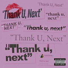 thank u, next (The UK's Official Chart Number 1)
