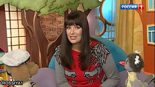 Russian Rossiya1 TV children's programme