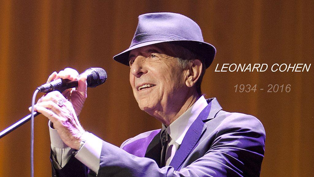 Music News round-up: Tributes to Leonard Cohen
