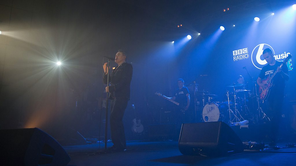Morrissey courts controversy at 6 Music Live gig