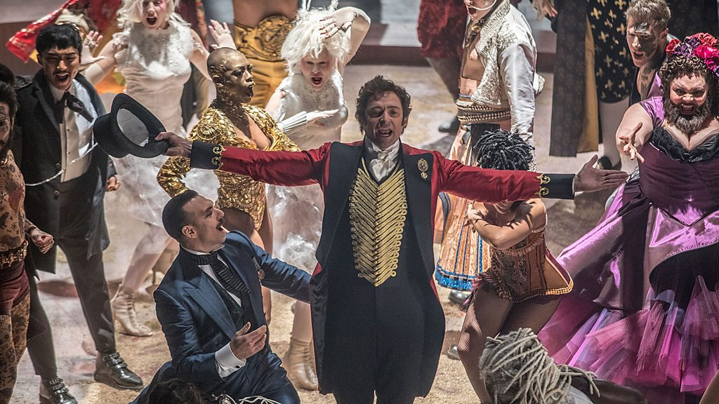 The Greatest Showman takes centre stage